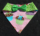 CUPCAKE / Daisy Reversible Bowtie Quickerchief - custom