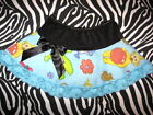 NEW CUTE Baby Girls Black Blue lace Teletubbies  Skirt