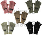 G21 LADIES WINTER THERMAL WARMTH THINSULATE LINED FINGERLESS GLOVES WALKING HIKE