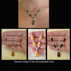 BALTIC BUTTERSCOTCH CHERRY HONEY or GREEN AMBER STERLING ...