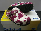 Dr.Scholl Ladies Dakota WineTexas /Leather Bioprint Closed Toe Mules *New In*