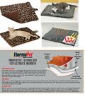 CAT Pet Small Dog Luxury WARM THERMAL LEOPARD-SOLID REVERSIBLE Fleece MAT BED