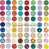 720 Swarovski 2088 20ss crystal flatbacks rhinestones 5mm ss20 pick color (A-D)