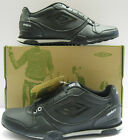 UMBRO GREMIO-A BLACK/CLOUD LACE UP TRAINERS