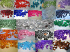 100 TABLE DIAMONDS SCATTER CRYSTALS 10MM 4CT IN 21 COLOURS