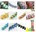 30pc Flower Lampwork Glass Beads HR7114