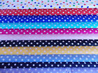 SPOT  FABRIC 100% COTTON PER 1/2 METRE 7MM DOT POLKA
