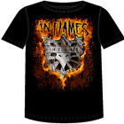 IN FLAMES - Shield Flames - T SHIRT S-M-L-XL Brand New - Official T Shirt