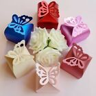 100pcs Charm Butterfly Paper Gift Box Wedding Party Favors Candy Box Wholesale