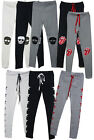 p37 Soft stretchy SKULL PATCH  rolling stones STAR print leggings