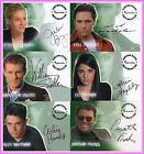 A1 A4 A5 A6 Jonathan Frakes Julie Benz Shiri Appleby Auto Trading Card Roswell