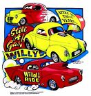 1940-41 WILLYS STREET ROD DRAG CAR GASSER SWEATSHIRT C152