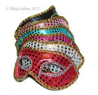SEQUIN MASQUERADE FANCY DRESS PARTY VENETIAN BALL FACE MASK CARNIVAL NEW YEAR