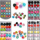 Wholesale 120pairs Enamel Resin Letter Heart Flower Mixed Stud Earrings Display