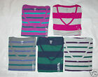 TOMMY HILFIGER Womans V-Neck Striped T-Shirt Top Size XS S M L XL or 2XL NWT
