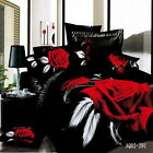 New Red Rose King/Queen/Double Bed Quilt/Duvet Cover Set 100% Cotton Pillowcases