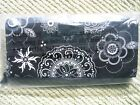 Thirty One Gifts Coin Purse Wallet  Dark Denim Onyx Medalion NWT
