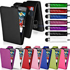 FLIP WALLET LEATHER CASE COVER FOR SAMSUNG GALAXY S2 I9100 FREE SCREEN PROTECTOR