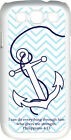 Chevron Faith Anchor with Verse Philippians 4:13 Samsung Galaxy S3 Case Cover
