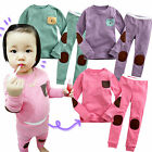 "NWT Vaenait Baby Toddler Kid Unisex Sleepwear Pajama Top Bottom Set ""Mix-Pocket"""