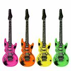 106cm Neon Inflatable Blow Up Electric Disco Rock N Roll Air Guitar Fancy Dress