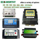 3A/5A/10A/15A/20A/40A/45A Solar Charge Controller Home Battery Regulator 12/24V