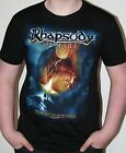 RHAPSODY OF FIRE - Frozen tears of angels Black T-Shirt NEW (various sizes)