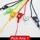 Cell Phone Neck Strap Lanyard Charms - detachable Ring