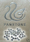 PANSTONE IRON-ON lot RHINESTONE CRYSTAL BEAD BLING CARD MAKING WEDDING BRIDAL