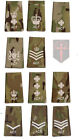 All Ranks Pair Multicam MTP ACF RANK SLIDES ( Cadets Army Cadet Force
