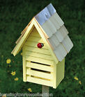 LADYBUG HOUSE - LADYBUG CHALET IN 4 COLORS: WHITE, GREEN, YELLOW OR RED