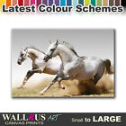 Wild Horses ANIMALS  Canvas Print Framed Photo Picture Wall Artwork WA