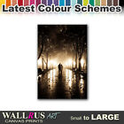 Park Love Trees LANDSCAPES  Canvas Print Framed Photo Picture Wall Artwork WA