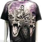 r68 M L XL XXL XXXL Rock Eagle T-shirt SPECIAL Tattoo Skull Angel Monster Grim
