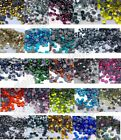 7200 Iron On Hotfix Crystal Glass Rhinestones Many Colors SS10/SS16/SS20