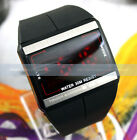 Fashion CLOCK RED DIGITAL LED TOUCH SCREEN HOURS MENS WOMEN SPORTS WRIST WATCH