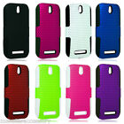 Apex Hard Cover Silicone Case For HTC One SV