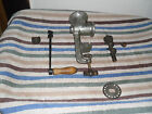 PARTING OUT: VINTAGE KEYSTONE MEAT GRINDER/ CHOPPER # 5. GOOD USABLE PARTS