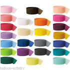 3x 81ft Crepe Paper Streamer Colours Decorations All Under One Listing