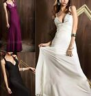 New Women Sexy Backless Prom Ball Cocktail Party Maxi Dress Evening Gown