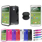 S Line Gel Case - Screen Protector - Portable Speakers For Samsung Galaxy S4 i95