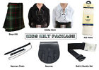 Boys Ultimate Kilt Package Complete Standard Casual Outfit, MacKenzie