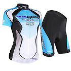 New Cycling Bicycle Comfortable outdoor Jersey + Shorts size S - XL For Women