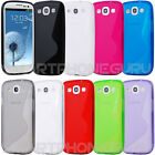 S Line Soft TPU Gel Rubber Silicone Case Cover Skin for Samsung Galaxy S3 i9300