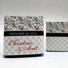 100 Eclectic Pattern Printed Favor Boxes Wedding Favors