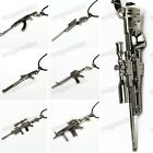 Hot 1Pc Charming Men's Metal Army Gun Rifle Chain Pendant Necklace 18 Styles