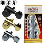 Sperzel Style Locking Machine Heads Tuners 6 in line for Stratocaster Telecaster