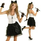 Adult 80s Pop Star Party Costume 1980s Madonna Clothing Fancy Dress Retro Outfit