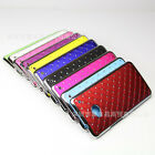 luxurious Bling Star Diamond Shining Hard Cover CASE for HTC One M7