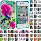 Color Design TPU Rubber Skin Case Cover for iPhone 4 4S 4G Accessory